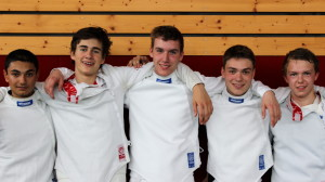Le cadre des jeunes du CEL saison 2013-2014